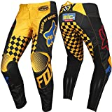 Fox Racing 180 Czar Kids Off-Road Motorcycle Pants - Black/Yellow / 5
