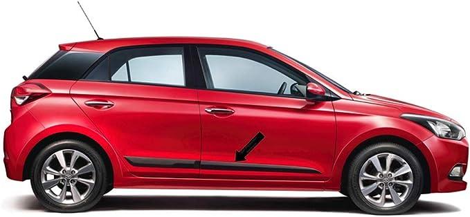 Spangenberg Black Side Guard for Hyundai i20 II Hatchback 5-Door 2 Generation from 11.2014 onwards . 370005101 F51