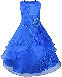 Amazon.com: Blue - Special Occasion / Dresses: Clothing- Shoes ...