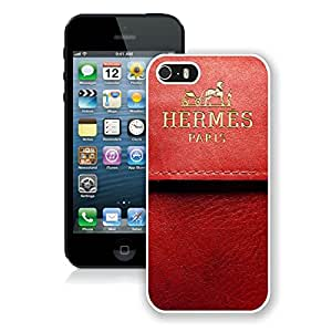Fashionable And Beautiful Designed Case For iPhone 5 With Hermes 1 White Phone Case