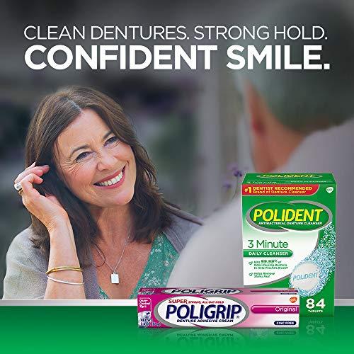 Super Poligrip Original Formula Zinc Free Denture Adhesive Cream, 2.4 ounce (Pack of 2) by Super Poli-Grip (Image #7)