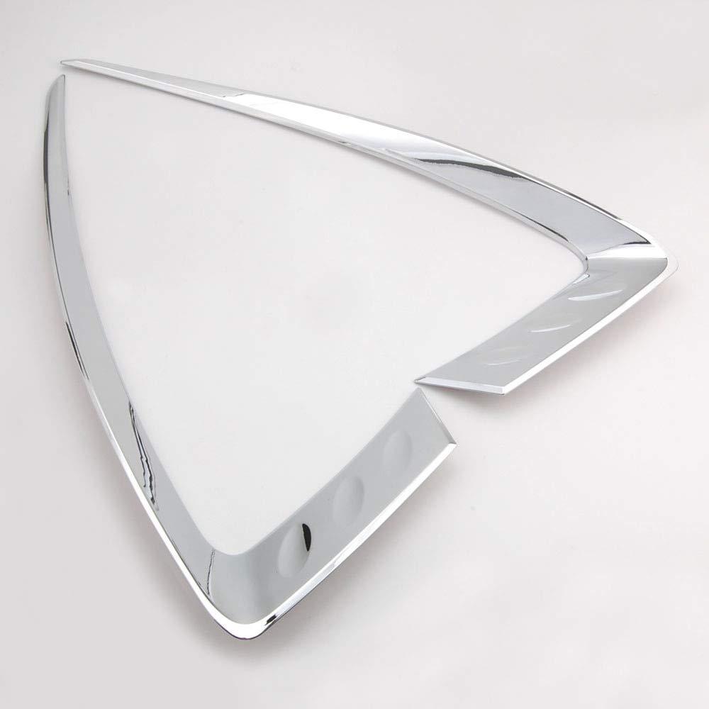 Jicorzo - ジープグランドチェロキー2014-2016用クロームABSフロントヘッドライトランプまぶたカバートリムエクステリアカースタイリングステッカー装飾モールディング B07M8WCB7Q