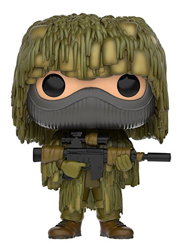 Funko- All Ghillied Up Figura de Vinilo, coleccion de Pop, seria Call of Duty, Talla unica (11842)