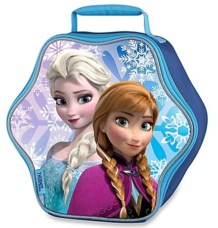 Disney Frozen Soft Vinyl Lunchbox Kit - Elsa & Anna