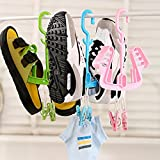 JD Million shop new fashion Creative Home hangers Shoes tied essential Multifunction Folding hang Drying ZH775
