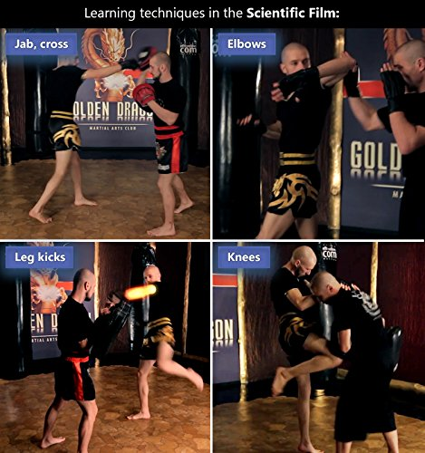 Kickboxing DVDs workout for women men 47 minutes - and Instructional kickbox Muay Thai video training 10 lessons 143 minutes - Cardio exercise - Way of The Warrior Step 1 Base technique - 2 in 1 7