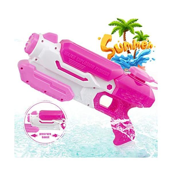 O-Kinee Pistole ad Acqua Giocattolo Blaster Acqua Outdoor Water Blaster per Spiaggia, Piscina e Giochi all'Aperto Ottimo… 1 spesavip
