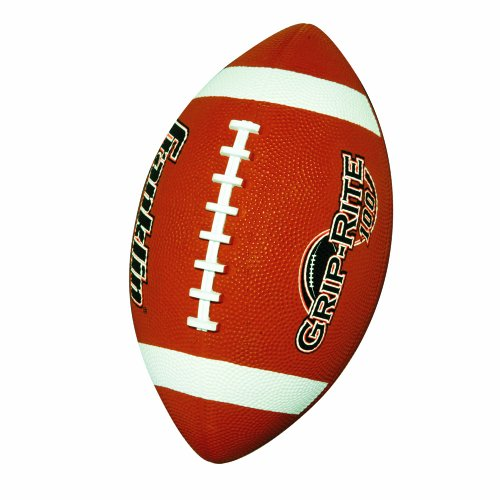 Franklin Sports Grip-Rite Rubber Football (Junior Size)