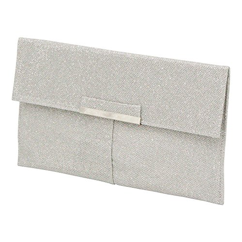 Phone Holder Clutch Purse Thin Party Bags White Bridal Womens Wocharm Evening Glitter 6cq8nBC