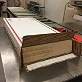 """12"""" x 24"""" sheets of 1/8"""" MDF (24 pieces) perfect"""