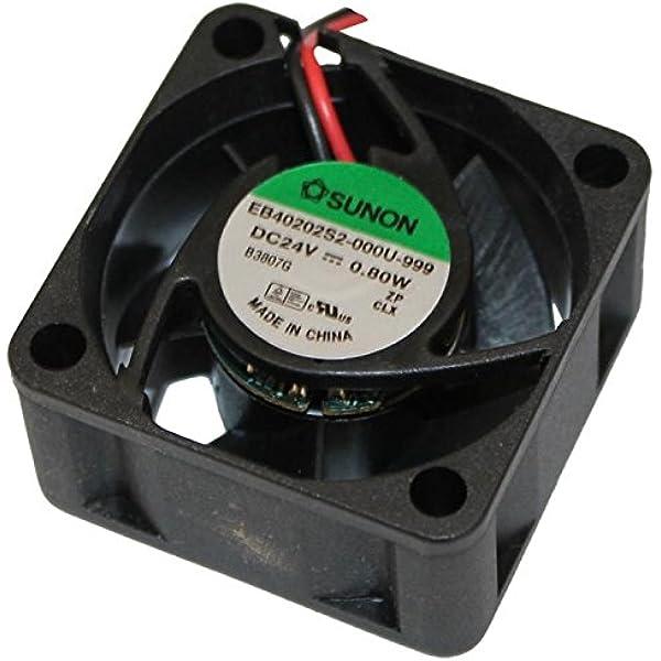 Fan / Ventilador 24V 0,8W 40x40x20mm 13m³/h 21dBA ; Sunon ...