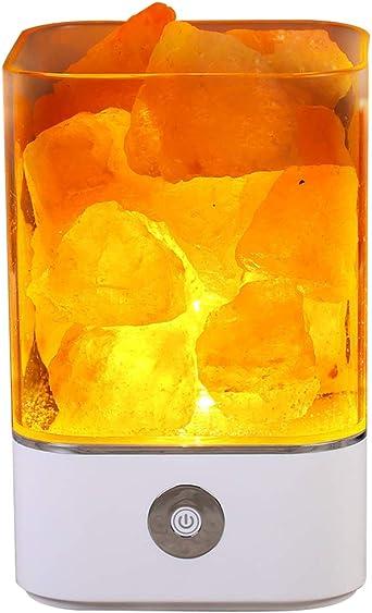 Sel de l/'Himalaya lampe CRISTAL ROSE Relaxant guérison naturelle Lampe certifié