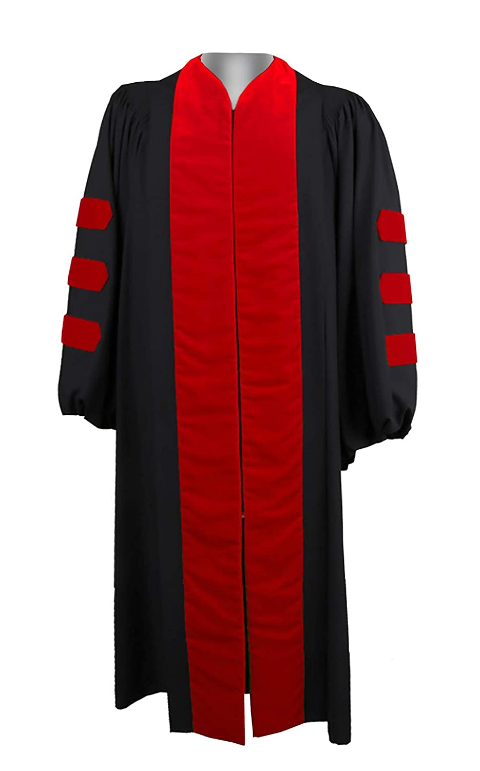 Choirgown Unisex Choir Robes Adult Chaplain Clergy Robes Chaplain of Scarlet Robes