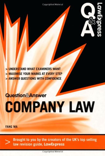 Company Law (Law Express Questions & Answers) PDF