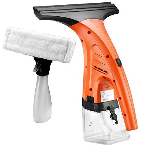 VonHaus Window Vac - Window Cleaning Vacuum Kit + Spray Bottle & Microfibre Pad - Streak-Free Cleaning