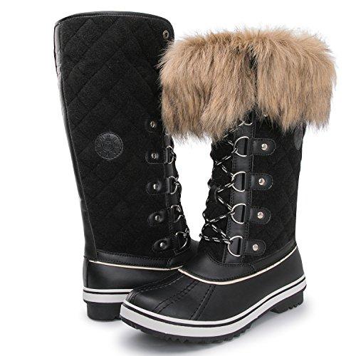 63ed5248a5bc Kingshow Women s Globalwin Waterproof Winter Boots