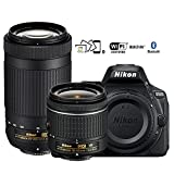 Nikon D5600 Digital SLR Camera with 18-55mm VR & 70-300mm DX AF-P Lenses – (Certified Refurbished) Review
