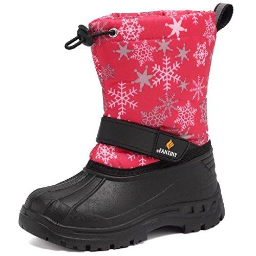 Little Girls Snow Boots - 6