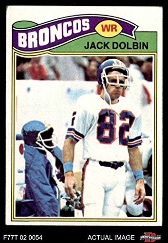 1977 Topps # 113 Jack Dolbin Denver Broncos (Football Card) Dean's Cards 4 - VG/EX Broncos