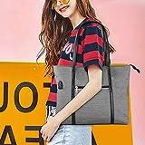Laptop Tote Bag, Large Women Work Bag Purse USB