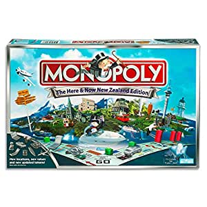 MONOPOLY - New Zealand Here & Now Edition - 2 to 6 Players - Family Board Games - Ages 8+