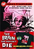 Brain That Wouldn't Die DVDTee (Size L)
