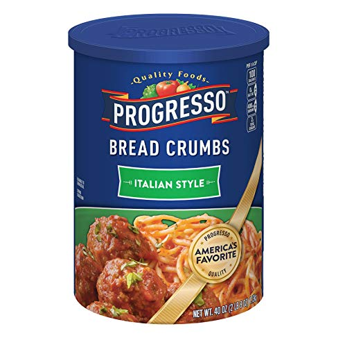 (Progresso Bread Crumbs, Italian Style, 2-pack 40 Ounce Canisters)