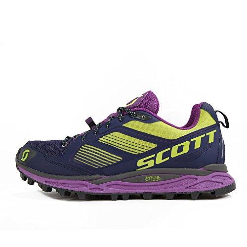 Scott running Zapatilla ws kinabalu supertrac-purple/green-8 usa