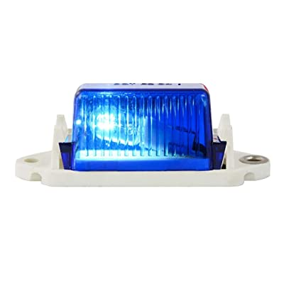 GG Grand General 80252 Blue Mini Light w/White Base: Automotive