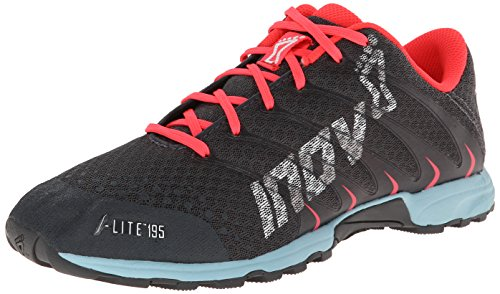 Inov-8 Women's F-LITE 195 (P) Grey/Blue-W, 6.5 M US