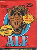 Alf 2nd Series Trading Cards with New Boullabaseball Card Inside! (5 Cards, 1 Sticker, 1 Stick Bubble Gum)