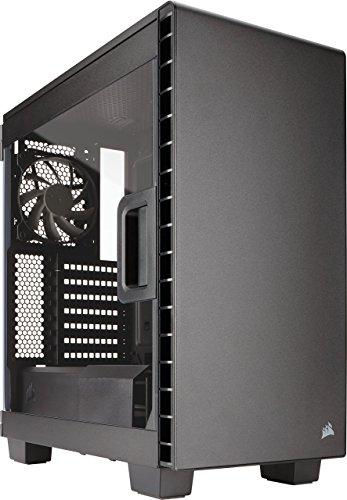CORSAIR CARBIDE 400C Compact Mid-Tower Case, Window Side Panel – Black (Renewed)