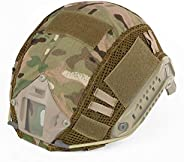 Camouflage Helmet Cover for Tactical Military Combat MH/PJ/BJ Type Fast Helmet Airsoft Paintball Hunting Shoot