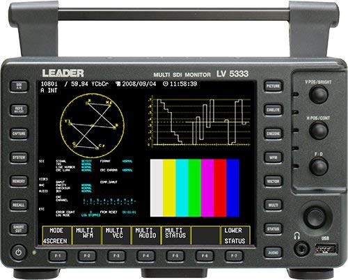 Leader LV5333 Multi SDI Monitor with 3G Capabilities