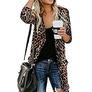 Leopard-Print Button-Down Shirt