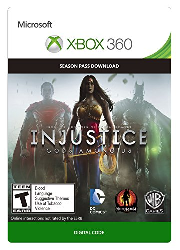 Injustice: Gods Among Us Season Pass - Xbox 360 Digital Code