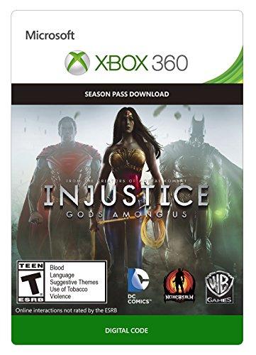 Injustice: Gods Among Us Season Pass - Xbox 360 Digital Code by Warner Bros. Digital Distribution
