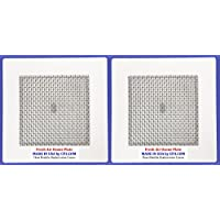 2 Universal Ozone Plates MADE IN USA By CP3 Inc. 4.5 x 4.5 for Fresh Air EcoQuest Alpine Vollara GreenTech Spring Air Natures Air