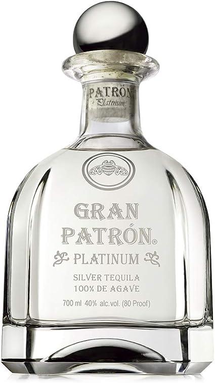 Patron Gran Platinum Tequila - 700 ml
