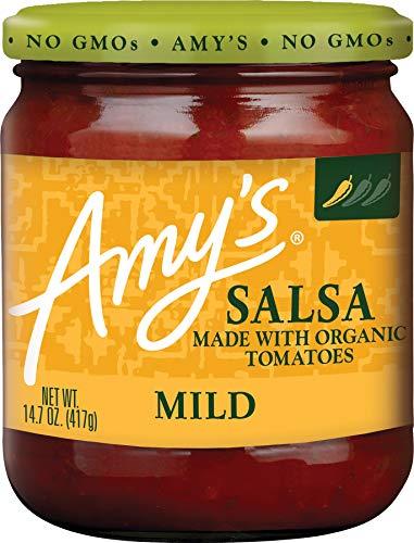 Amy's Organic Salsa, Fat Free Tomato, Mild, 14.7 Ounce