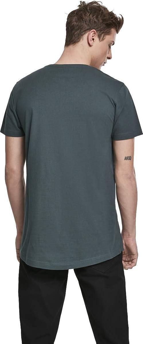 URBAN CLASSICS SHAPED LONG T-Shirt TB638 T-shirt de base extra LONG Jersey