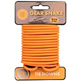 Ultimate Survival Technologies Gear Snake Orange Bendable Wire Tie-Down (4-Pack)