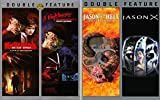 Freddy Takes on Jason Movie Night: A Nightmare on Elm Street, A Nightmare on Elm Street 2 (Freddy's Revenge), Jason Goes to Hell (The Final Friday) Jason X (Quadruple Feature 4-Pack DVD Set)