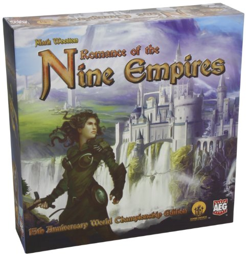 Romance of The Nine Empires Card Game by AEG