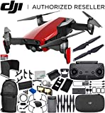 DJI Mavic Air Drone Quadcopter (Flame Red) 1-Battery Ultimate Bundle