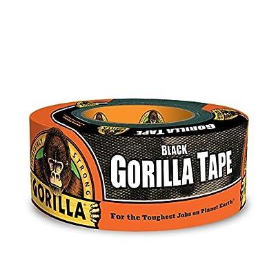 "Gorilla Tape, Black Duct Tape, 1.88"" x 12 yd, Black by Gorilla"