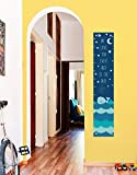 Nautical Growth Chart for Kids Love You Every