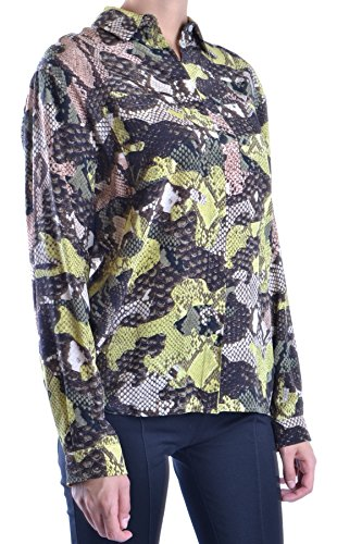 MSGM Camicia Donna MCBI217017O Seta Multicolor