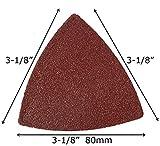 XXGO Triangular Oscillating Multi Tool Sanding Pads
