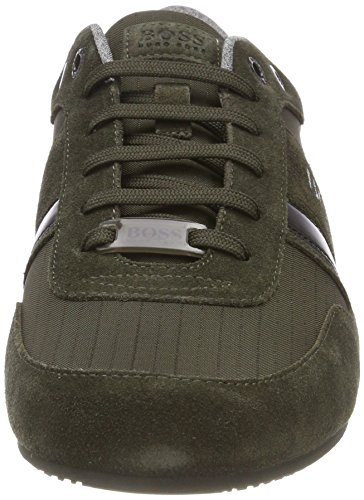 Lighter Athleisure Dark 308 lowp Hombre BOSS Life Green para Zapatillas Verde qHTZ5w5d